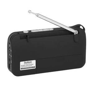 Image 5 - Rolton W405 Portable FM Radio USB filaire ordinateur haut parleur HiFi récepteur LED Support daffichage TF jouer avec lampe de poche argent vérifier