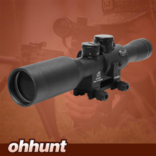 Hunting Tactical POSP 6X42W Weaver Version Red Illuminated SVD AK Rifle Scope Sniper RifleScope Made in