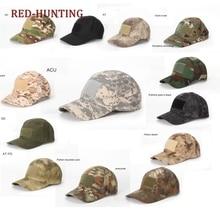 Baseball-Caps Multicam Camouflage-Hat Marpat Mandrake A-TACS Military Woodland Tropic Black