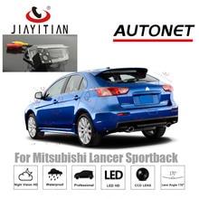цена на JiaYiTian rear view Camera For Mitsubishi Lancer Sportback 2010~2019 CCD Night Vision license plate Camera Reverse backup camera