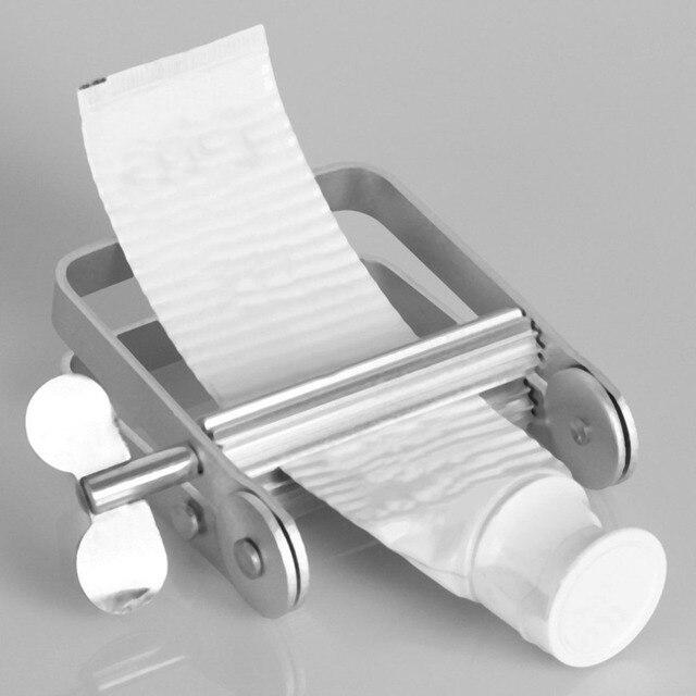 2018 Manuale di Alluminio Dentifricio Dispenser Dentifricio Tubo Squeezer Bagno