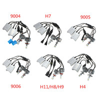 2x 90W H4 H7 H11 H8 H9 9004 9005 9006 LED Car Headlight Bulbs Conversion Kit