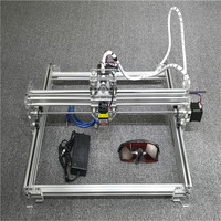 1000mW Laser Engraving Machine Mini USB DIY Engraver 1W Wood Plastic Cutting Carving Desktop 300 400mm
