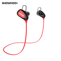 Showkoo Sport Bluetooth Earphone For Women Girl Student Bass Stereo Headset With Microphone Wireless Music Headphone