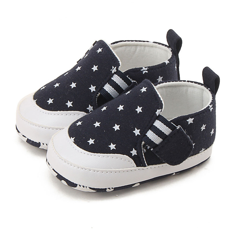 Baby shoes 2019 new Newborn Infant Baby Girl Boy Print Crib Shoes Soft Sole Anti-slip Sneakers Shoes #4M14 (3)