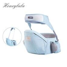 Honeylulu pas bezpieczeństwa dziecko talia stołek procy dla noworodków oddychający kangur dla dziecka ergoryukozak Hipsit plecak na jedno ramię