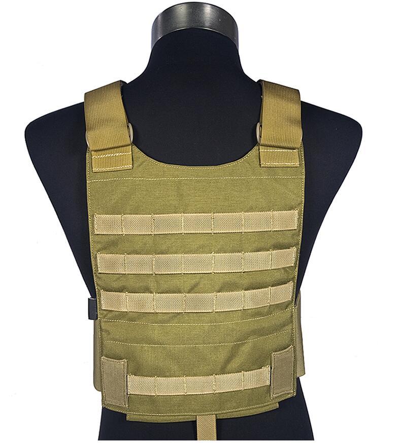 FLYYE MOLLE LT6094A Slicks Vest Military Tactical Vest VT-M030 in stock flyye genuine molle force recon vest with pouch set ver land military tactical vest vt m005