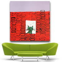 Andy Warhol So Meow C 1958 Pop Art Print Wall Painting Picture Home Abstract Decorative Art