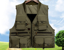 Quick-drying, breathable multi-purpose outdoor sports vest, vest, fishing, hunting vest