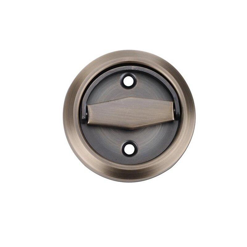 Invisible Handle Black Bronze Hardware Gold Dark Side Background Pastoral Wooden Door Handles for interior door furniture in Door Handles from Home Improvement