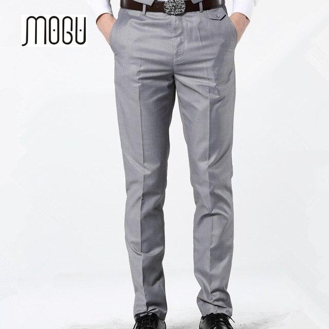 a6875261ee Disponibles en 2019 nuevo Casual vestido de pantalones para los hombres 7  colores Slim hombres pantalones