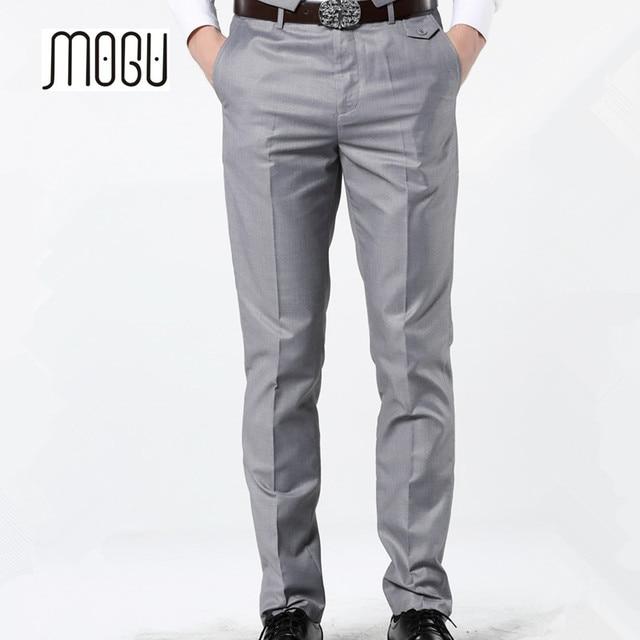 MOGU Mens Skinny Casual Trousers