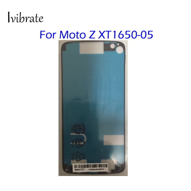 Original New For MOTO Z <font><b>Lcd</b></font> Screen Back Cover Adhesive Glue For Moto <font><b>XT1650</b></font>-05 waterproof glue free shipping image