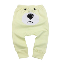 Newborn Harem Pants Cotton PP Pants Baby Boys Girls Cotton Trousers Autumn New Baby Pants Baby's Clothing 6-24M недорого