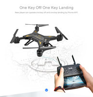 KY601S RC Helicopter Foldable Selfie Camera Drone Quadcopter With Wide angle HD 1080P Wifi Fpv Camera