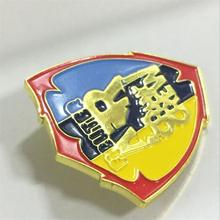 New Die Casting Badge with Great Discount 3D Hot Sale