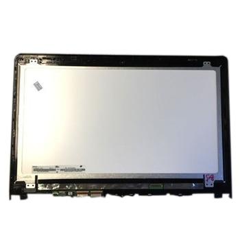 """For Lenovo Yoga 500-15isk 15.6"""" LED LCD Touch Screen Glass Digitizer Bezel Assembly 1920*1080"""