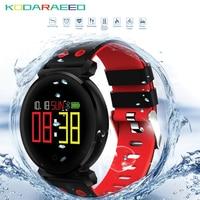 K2 Smart Bracelet Fitness Band Blood Pressure Heart Rate tracker Blood Oxygen IP68 Waterproof OLED Color Screen Wristband Watch