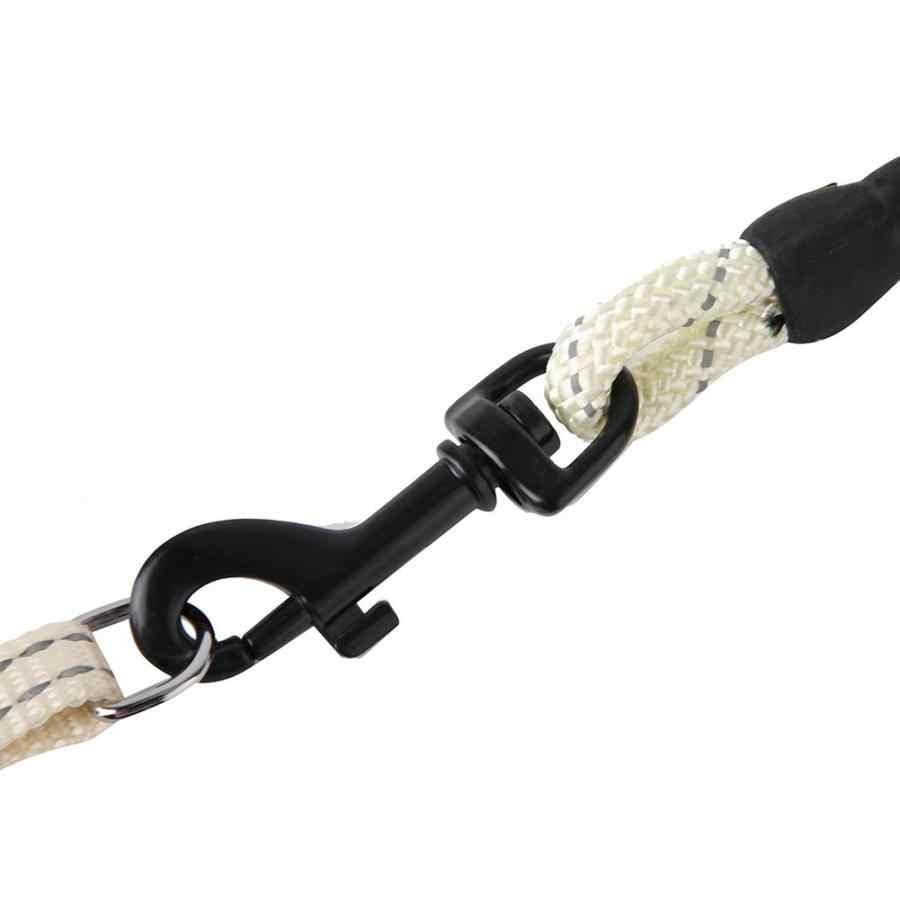 犬ハーネス子犬犬猫ハーネスリーシュ LeadPet 犬の首輪リーシュ調整可能なナイロンソフト反射ストリップ犬