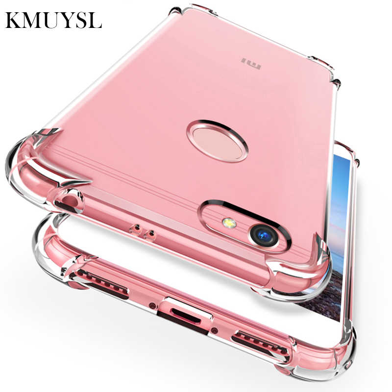Shockproof Clear Silicone For Xiaomi Mi 8 SE A1 5X A2 6X Note 3 Redmi 6A 5 Plus 6 4X 4A 5A S2 Redmi Note 5 5A 4 Pro 4X Soft Case