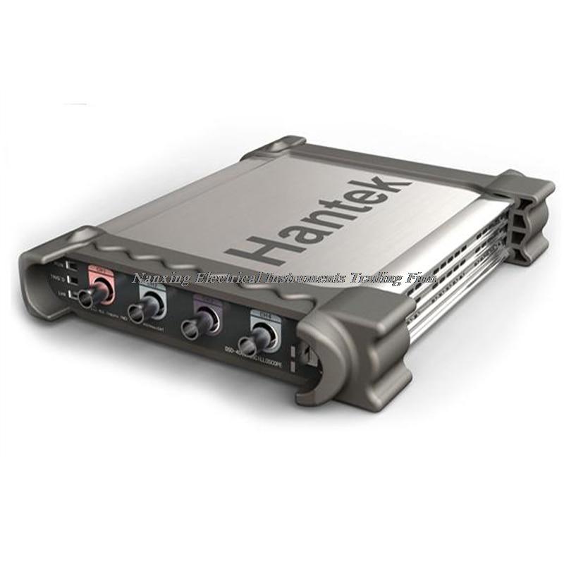 Hantek DSO3064A Kit I II III IV Automotive Diagnostic PC USB virtual Oscilloscope 4CH 200MS/s 60MHz Arbitrary signal generator цена