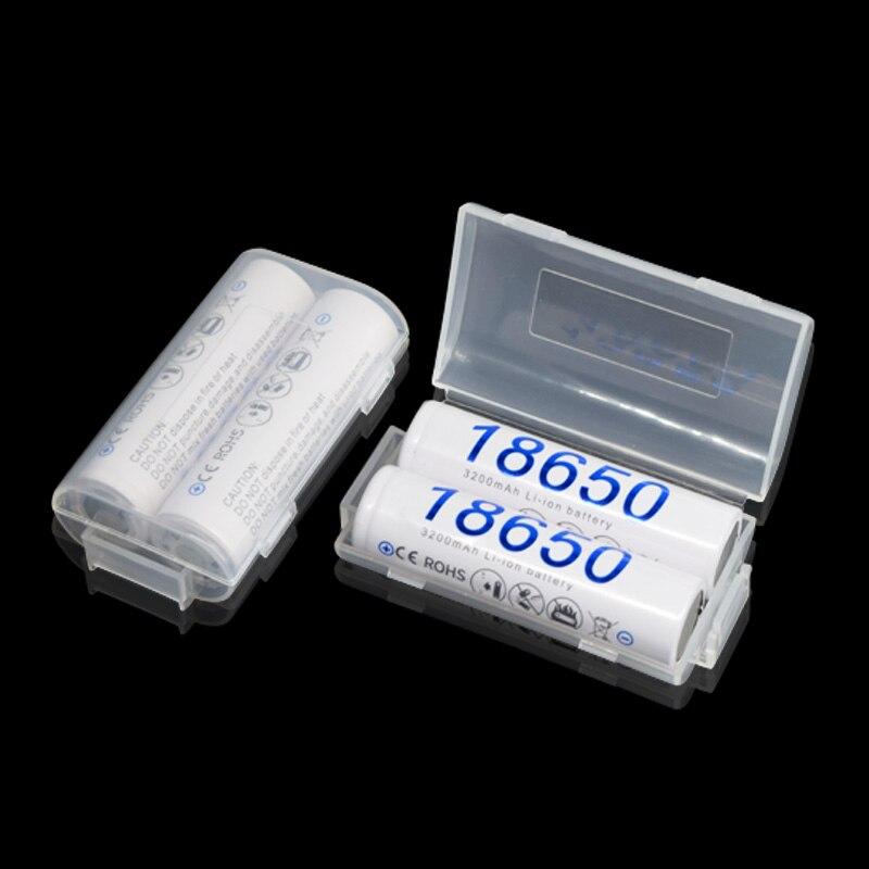 PALO 3200mAh 2-24pcs Original 18650 Baterias de Iões de lítio Da Bateria De Lítio Recarregável Para Panasonic Lanterna Cigarros Eletrônicos