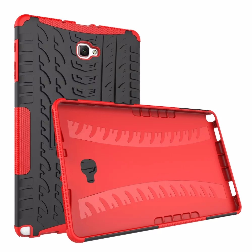 For Samsung Galaxy Tab A6 10.1 inch P580 P585 with S Pen case Heavy Duty Defender Rugged TPU+PC Armor Shockproof KickStand