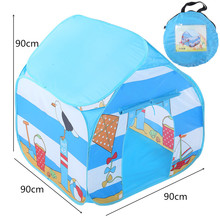 Kid Toys children's tent Play Tent Boy Girl Princess Castle Indoor Outdoor Kids House Play Ball Pit Pool Playhouse for Kids 5.16 недорого