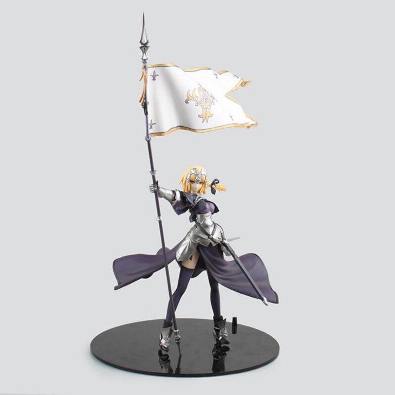 Destin/Apocrypha anime sabre jeanne d'arc figurine règle peinte 20 cm dessin animé collection modèle figurines boîte Y7525