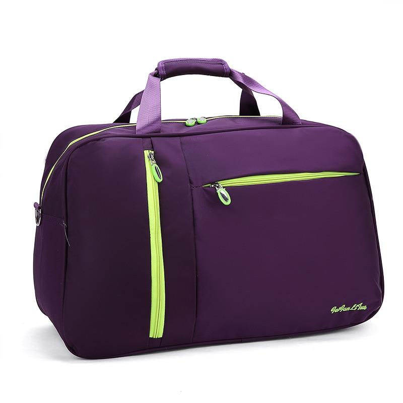 New Arrival Waterproof Women Travel Bags Nylon Casual Luggage Tote Bag Men PortableTravel Duffle Bag Bolsa Viagem PT1118