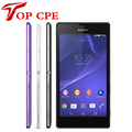 Бесплатная доставка оригинальный мобильный телефон Sony Xperia C S39h c2305 c2304 1 Г ОЗУ + 4 Г ROM Quad-core 1.2 ГГц 8.0MP камера wi-fi телефон