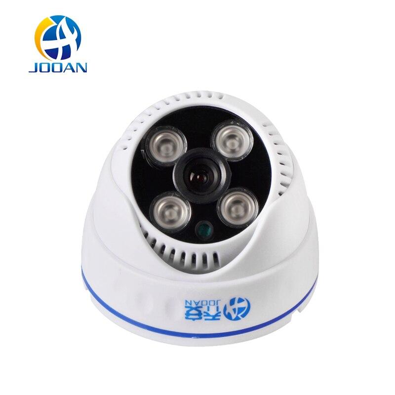 imágenes para JOOAN 1080TVL Dome Cámara de Seguridad 4 unids Array IR Led Día Noche Casa HD Video Vigilancia CCTV Blanco