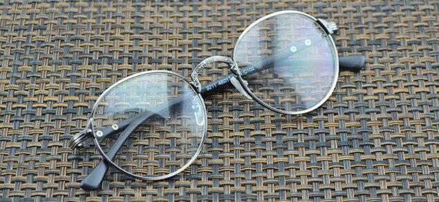 Lunettes de myopie Vintage à Distance myopie   Monture en métal de canon, moins hommes femmes, lunettes-0.50 -0.75 -1.0 -1.25 -1.50 -1.75