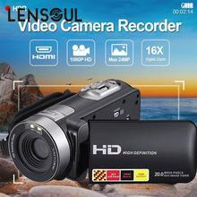 Cheapest prices lensoul 3″ LCD HD 1080P IR Night Vision Infrared Digital Camera Video Recorder Mini Camcorder DV DVR Cam US Plug