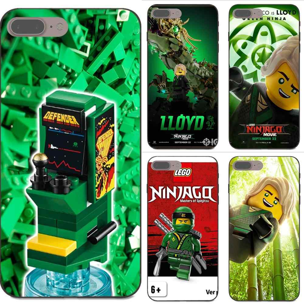 Souple TPU Mobile Cool Lego Ninjago Lloyd impression pour Apple iPhone 4 4 S 5 5 S SE 6 6 S 7 8 Plus X XS Max XR