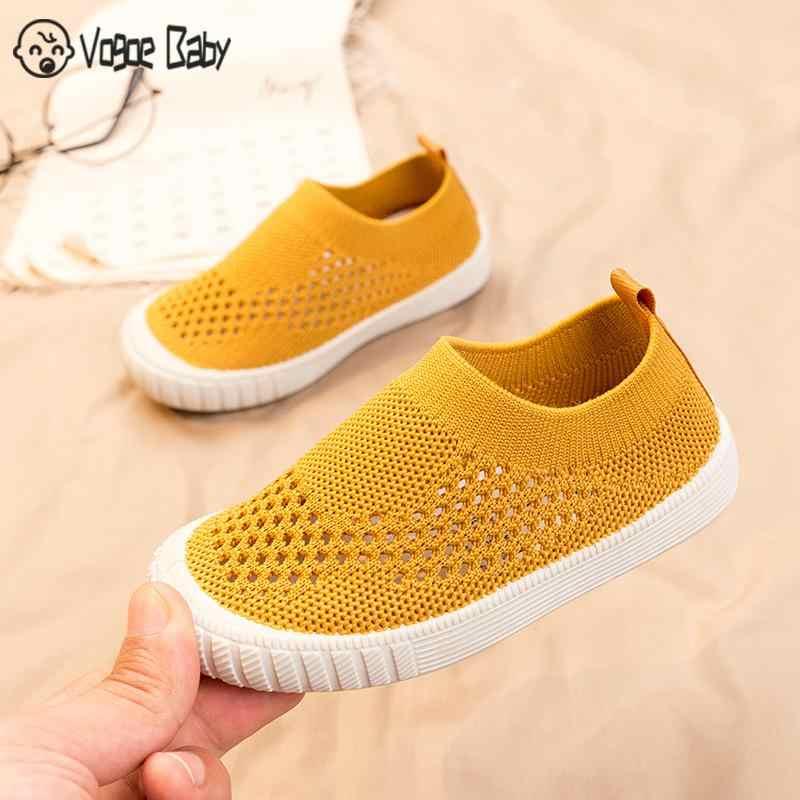 2019 primavera infantil Zapatos Niño niños niñas Casual zapatos de malla de fondo suave cómodo antideslizante chico bebé en primer lugar los caminantes zapatos 4829