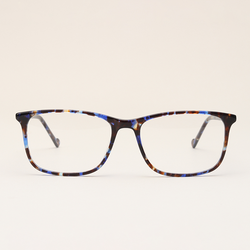 Acetate Frame Glasses Women Fashion Optical Retro Grade Clear Trendy ...