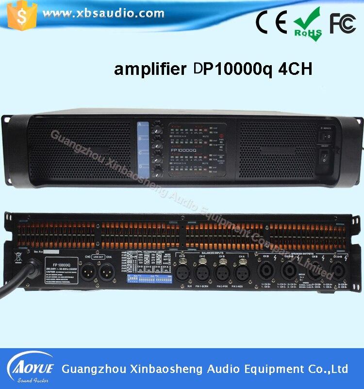 Professional Amplifier Type and 4 Channels grupen DP10000Q