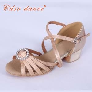 a1d6a7ab8903 Cdso dance Girls Shoes dance shoes Ballroom Salsa Shoes Children silver gold