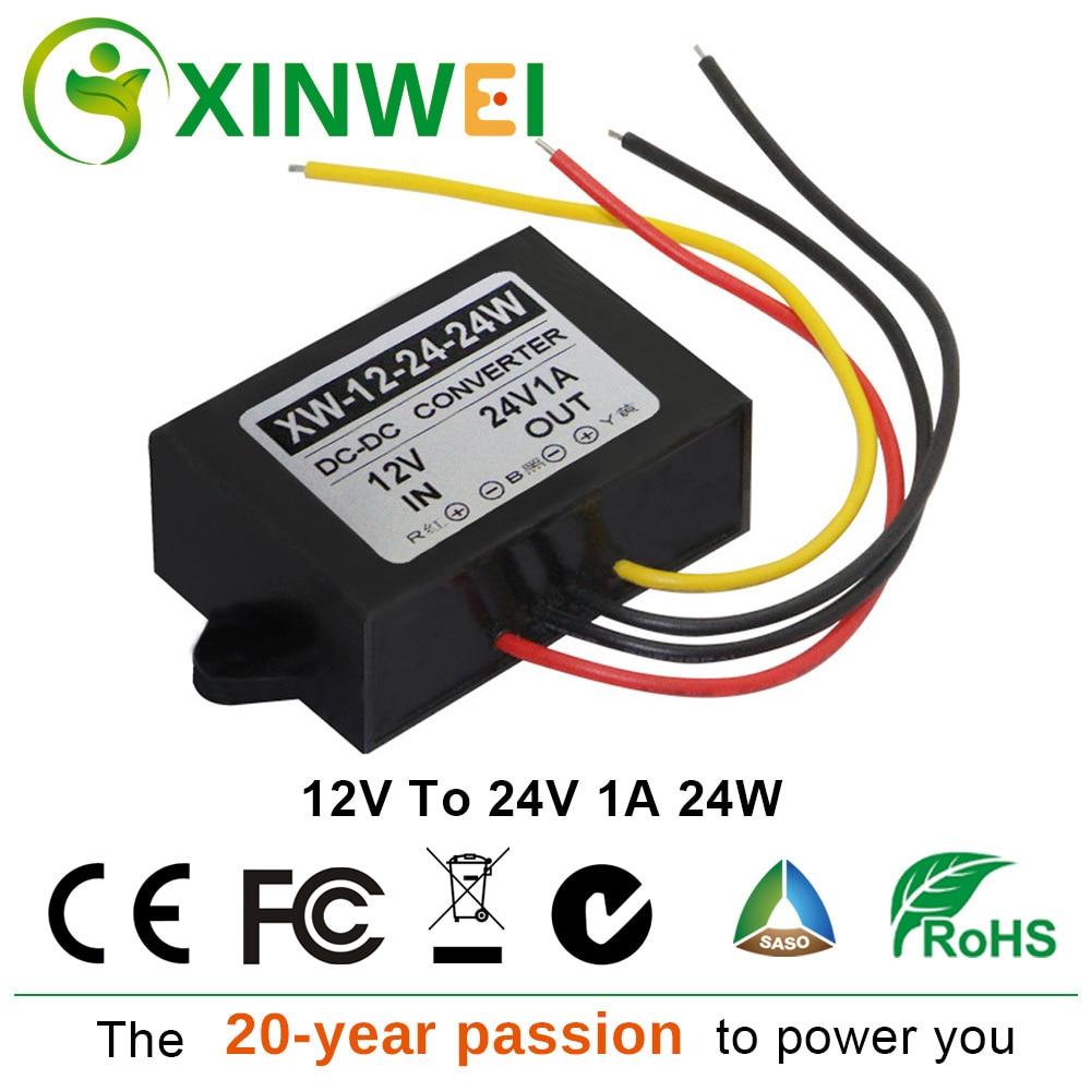 IP67 Volt Converter Regulator Dc24v To 12v 6A 60w Power Supply Module