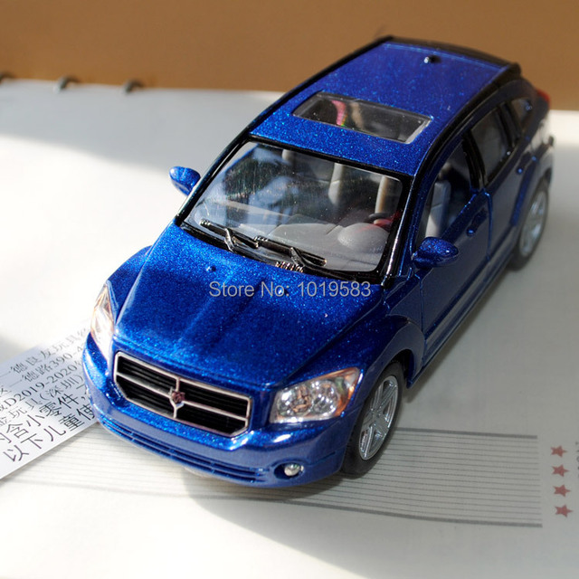 Brand New 1 34 Scale Car Model Toys Dodge Caliber 4 Color Diecast