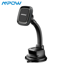 Mpow Magnetic Car Phone Holder Universal Mobile Stand For iPhone X Samsung Xiaomi Huawei 4-6 Inch Smartphone Cradle