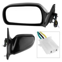 Universal Non Folding Durable Car Right Side Mirror Driver side RH Mirror for 97 01 Toyota Camry CE/LE/XLE Sedan 4 Door