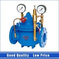 200X DN40 Adjustable Pressure Regulator Valve 1.6mpa Water Control Valve