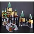 16029 Гарри, кино, волшебный замок хогварта, набор, совместимый с 5378, детские игрушки, строительные блоки, кирпичные детские игрушечные модели, ...