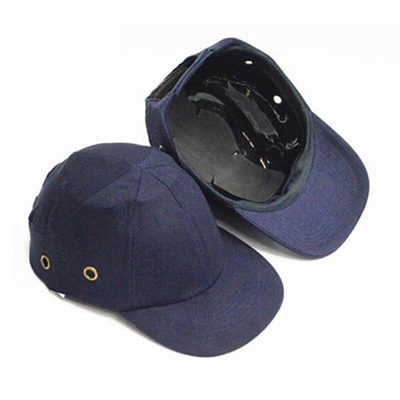 Men Women Work 4 Amp 6holes Safety Cap Abs Shell Helmet Air