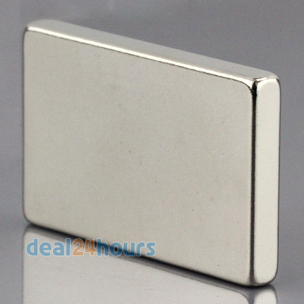 OMO Magnetics 1pc N50 Super Strong Block Cuboid Neodymium Magnets 40 x 25 x5mm Rare Earth omo magnetics 10pcs big bulk super strong cuboid block magnets rare earth neodymium 50 x 50 x 5 mm n35 wholesale