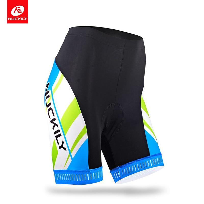 Nuckily summer WomenS Cycling Apparel Cool Max 3D Padding bike shorts GB011