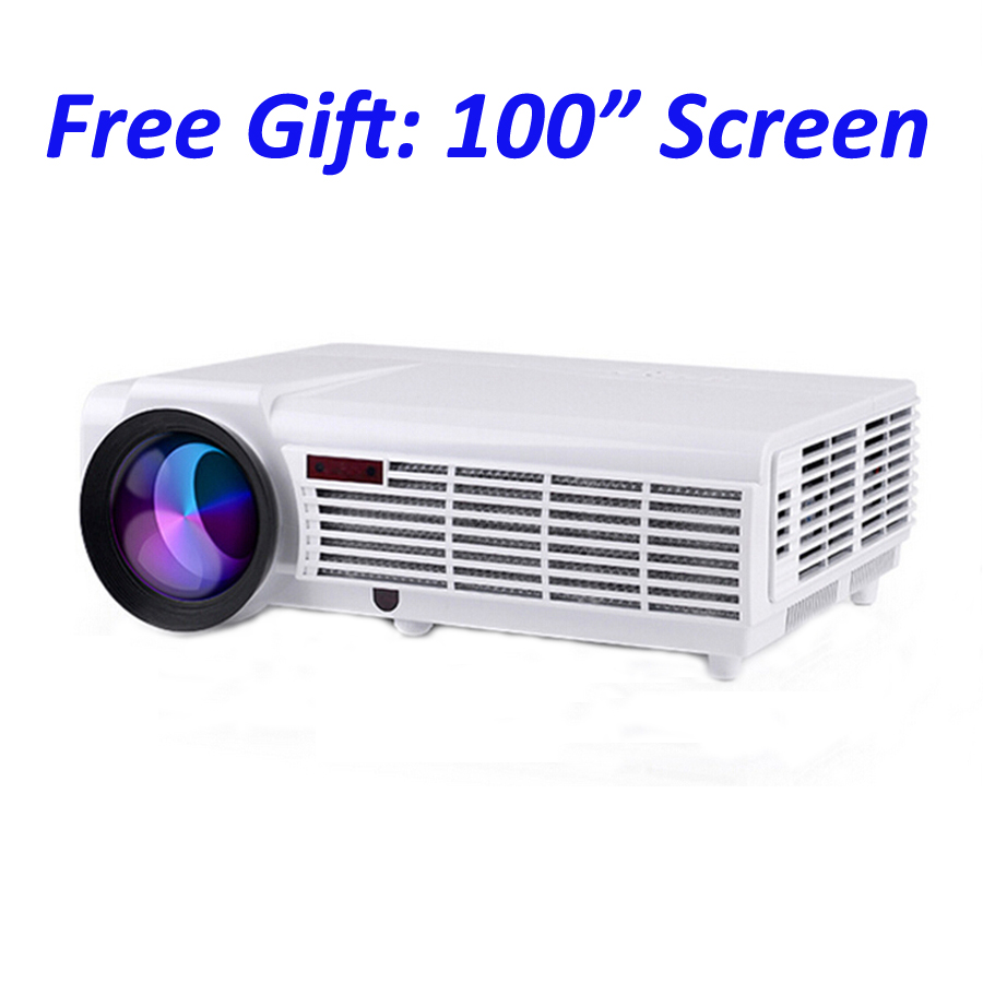 5500 Lumens Smart Lcd Tv Led Projector Full Hd Support: Aliexpress.com : Buy Android Wifi Smart Lcd Tv Led