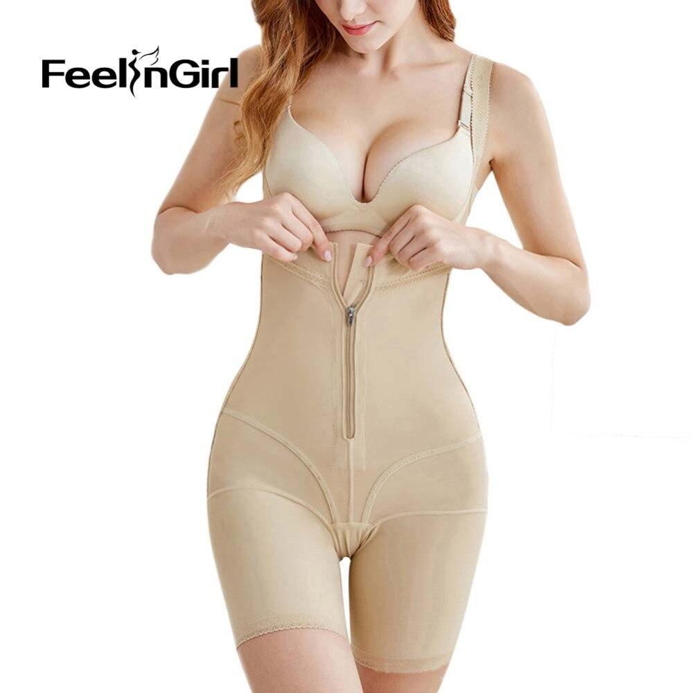 4c6dca8f3d954 FeelinGirl Full Body Shaper Modeling Belt Control Panties Bodysuit  Shapewear Plus Size Postpartum Corset Butt Lifter Underwear D